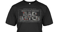 Star Wars The Bad Batch Logo T Shirt