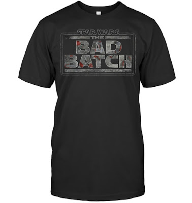Star Wars The Bad Batch Logo T Shirts