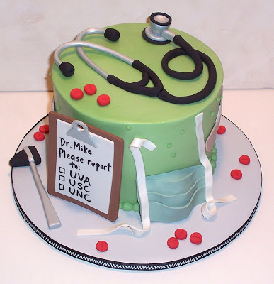 Cake Design For A Doctor : Welcome To Health Then More: Cute Medical Cake Designs!