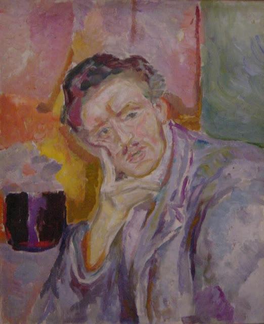 Эдвард Мунк - Автопортрет с рукой у щеки