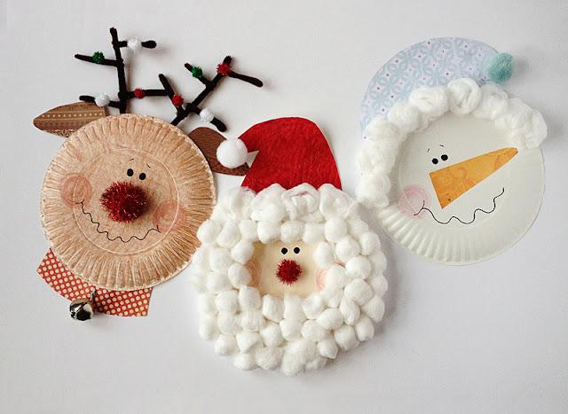 manualidades-navidad-platos