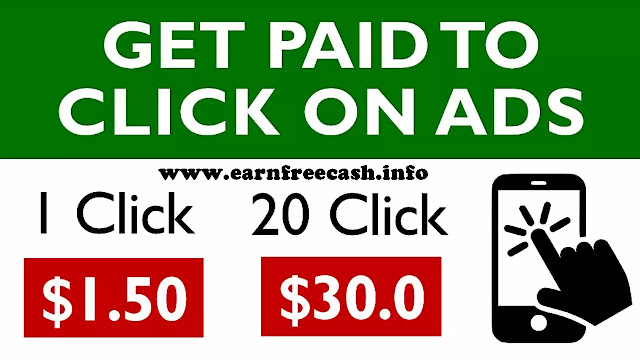Get Paid To Click On Ads