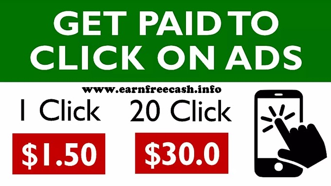 Get Paid To Click On Ads ($1.50 Per Click) FREE Make Money Online