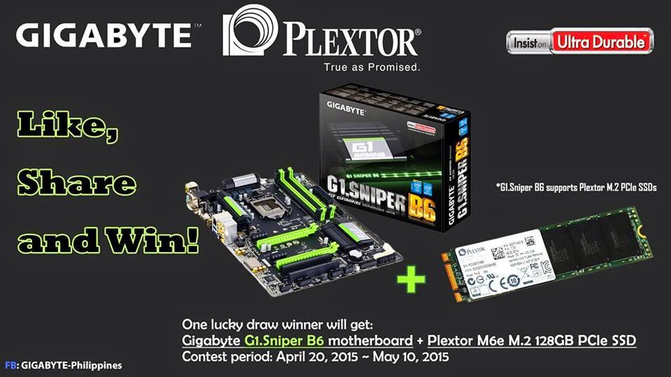Gigabyte and Plextor Online Event