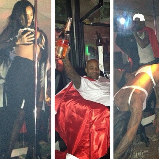 Camrons Birthday Party Included Strippers Cape Dame Dash