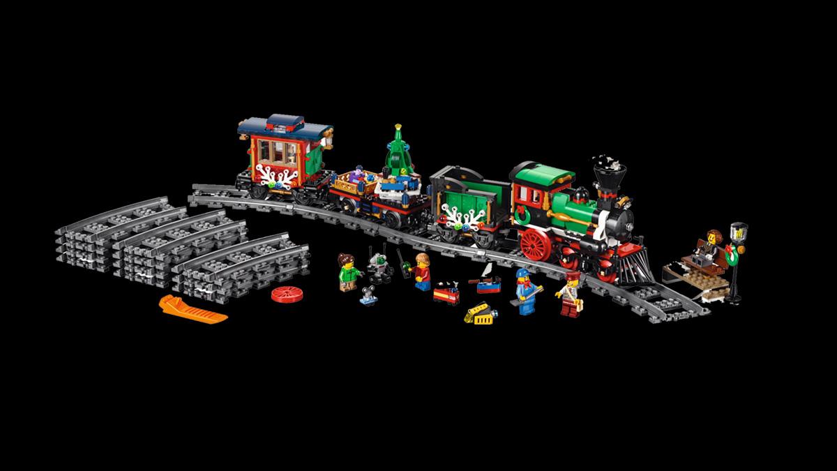 レゴ 10254 レゴ クリスマス・トレイン:クリエイター・エキスパート・ウィンター・ヴィレッジ