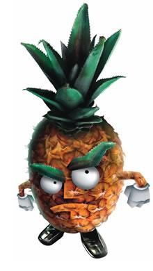 Eu quero ganhar o troféu abacaxi!