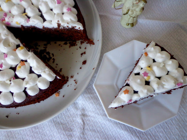 Шоколадово- бананов кейк