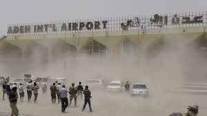 Aden Airport in Yemen