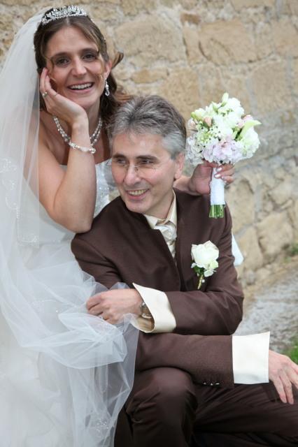 Yushka und Wolf am 18. Juni 2011: Kirchliche Hochzeit