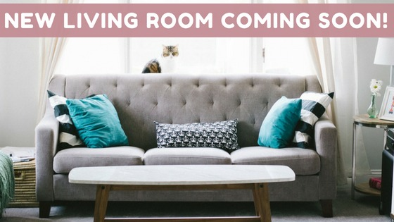 New living room coming soon header image