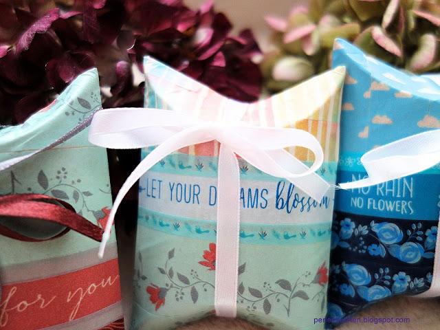 Geschenkverpackung, Klorolle, selber basteln