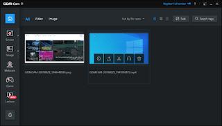 برنامج تسجيل شاشة الكمبيوتر Gom Cam