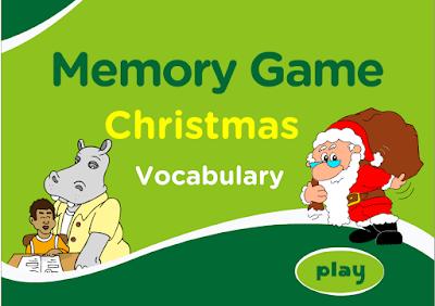 http://www.eslgamesplus.com/christmas-vocabulary-memory-game-for-esl/