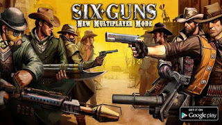 games offline perang Six-Guns: Gang Showdown