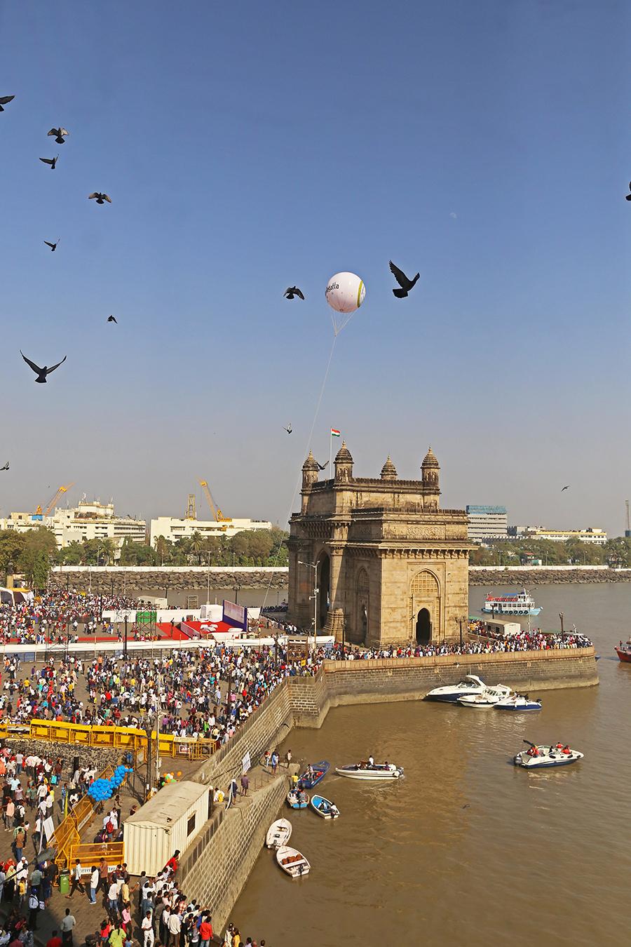 "Mumbai, India: A Luxurious Stay at the ""Grand Heritage"" Taj Mahal Palace Hotel"