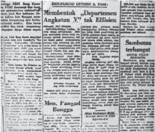 Contoh Soal berita yang berkaitan dengan kegiatan politik PKI sebelum terjadinya Peristiwa Gerakan 30 September 1965