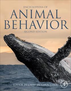 Encyclopedia of Animal Behavior 2nd Edition Volumes I-IV