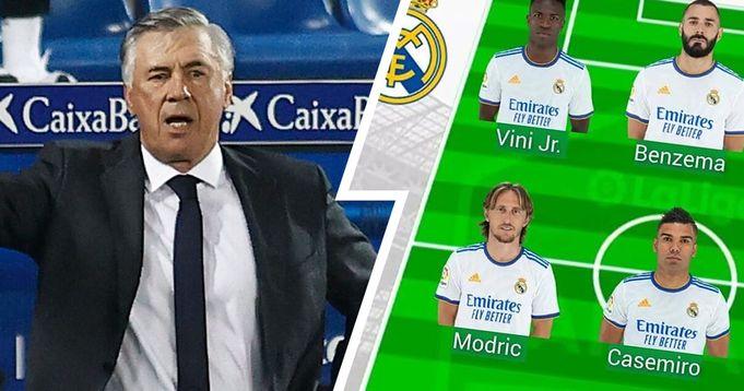 Real Madrid Possible line-ups vs Celta Vigo with Team news