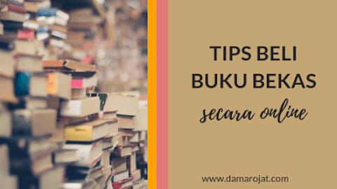Tips Beli Buku Bekas Secara Online
