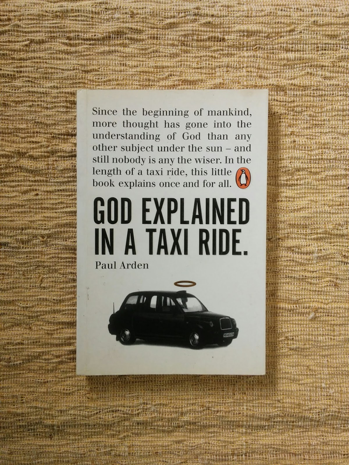 Cave A Vin Royan god explained in a taxi ride (paul arden) | aksiku - toko