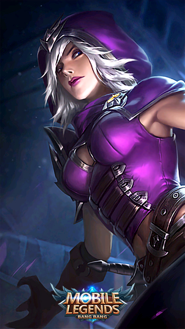 Wallpaper Natalia Glass Blade Skin Mobile Legends HD for Android and iOS