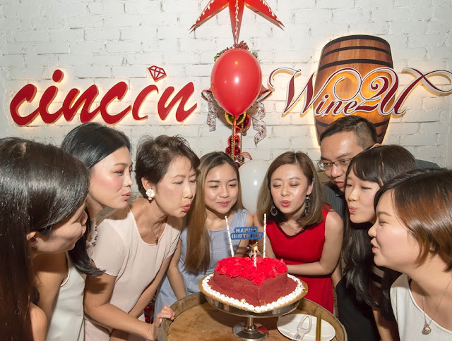 Cincin Dine & Wine Private Party & Birthday Celebration