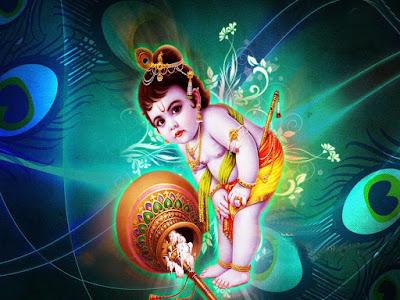 god krishna images