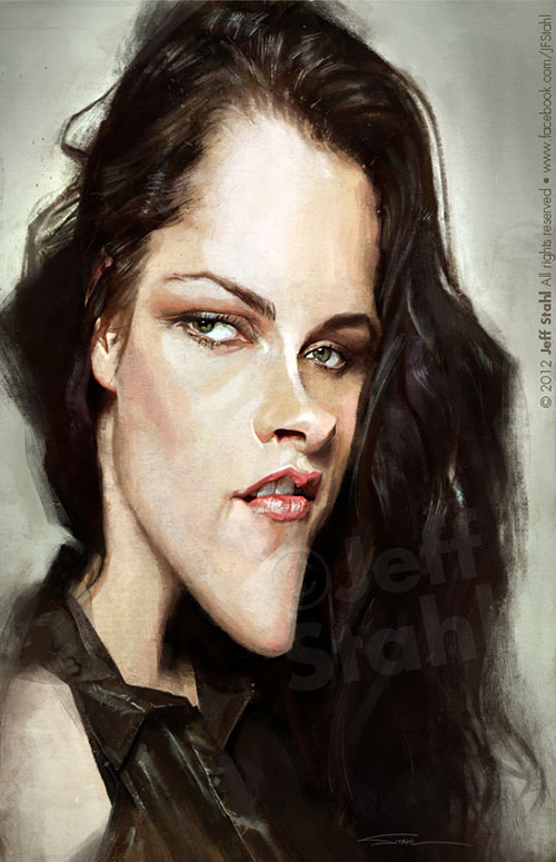 """""""Kristen Stewart"""" por Jeff Stahl"""