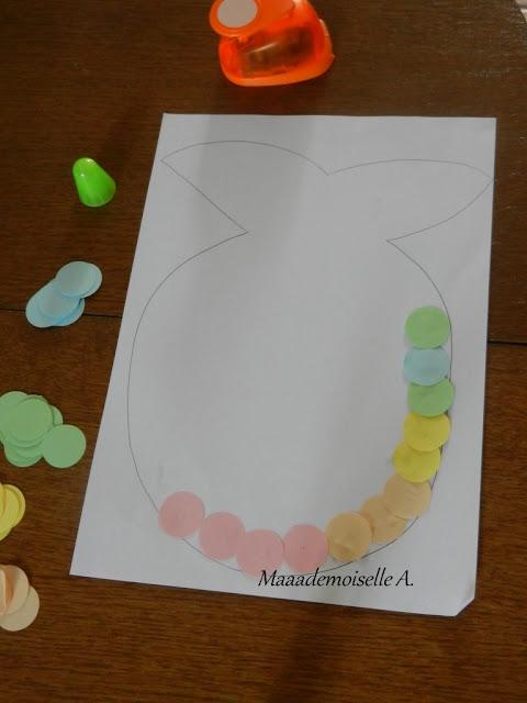 || Activité : Poisson (presque) arc-en-ciel (L'art est un jeu d'enfant # 1)