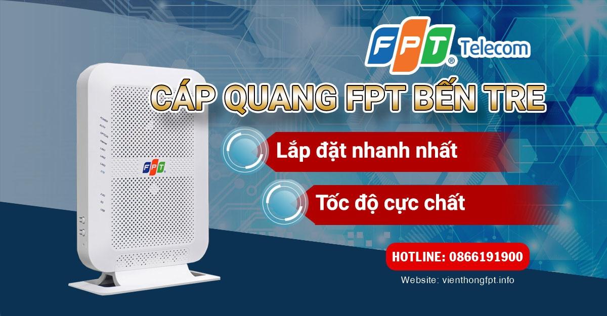 ĐĂng ký Internet cáp quang FPT ở Bến Tre