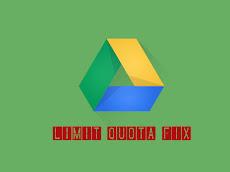 Mengatasi Limit Quota - Google Drive (kuota telah terlampaui)