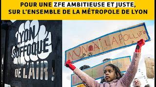 ZFE du Grand Lyon : la métropole lance la concertation... Lyon%2Bsuffoque