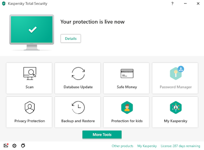 برنامج Kaspersky total security