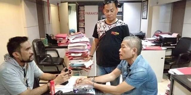 Ternyata, Pengemudi Yang Tantang Polisi Adalah Sekjen Rakyat Militan Jokowi .