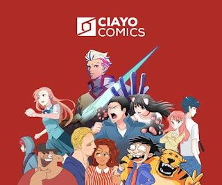 CIAYO Comics aplikasi baca komik