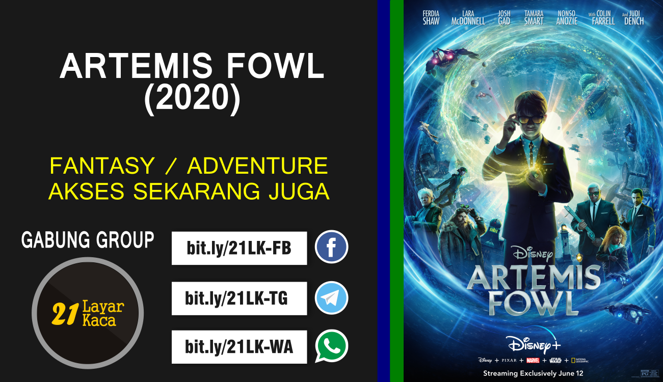 ARTEMIS FOWL (2020) - SUB INDO - 21 LayarKaca Sinopsis