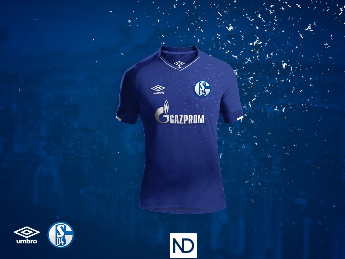 NatoDoldan s Schalke 04 concept home kit features a stylish design in the  club s traditional royal blue and white colors. It comes with a subtle  graphic ... 45bc892c1