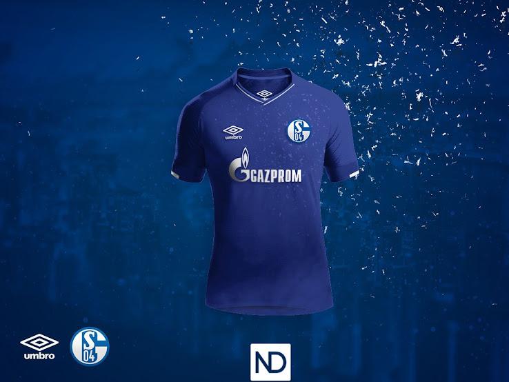 low cost 4e5cb 83d18 Umbro Schalke 18-19 Concept Kits - Footy Headlines