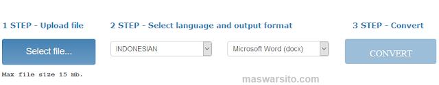 Cara Cepat Mengubah Teks dari PDF dan Gambar menjadi Format Word, Excel dan Text Tanpa Software