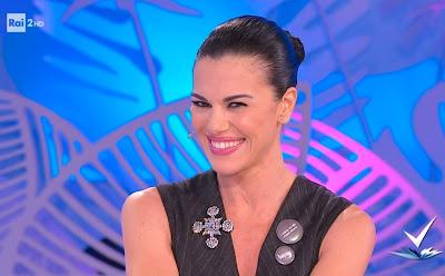 Bianca Guaccero sorriso conduttrice tv bella