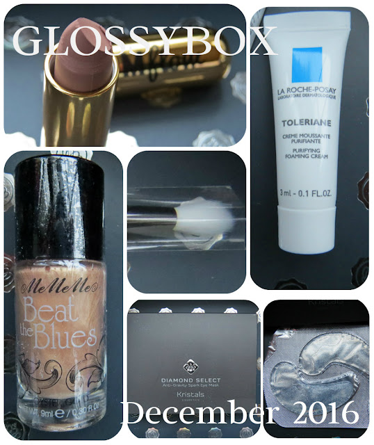 December 2016 GLOSSYBOX Review