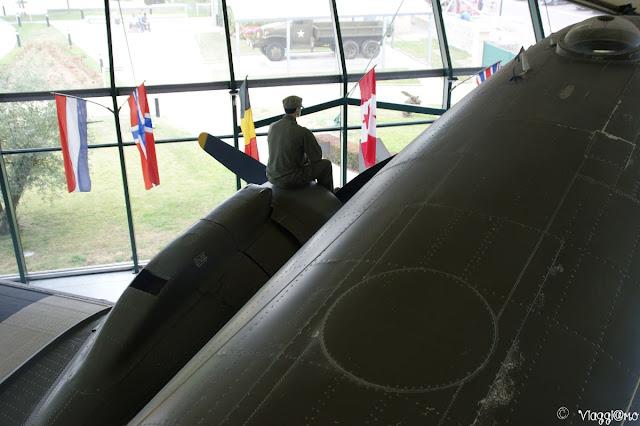 Interno del Museo dell'aviazione