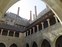 Palacio de los Duques de Braganza patio