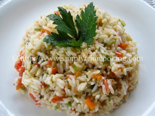 Spanish rice simply trini cooking spanish rice forumfinder Image collections