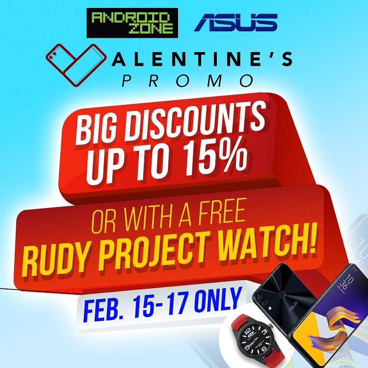 Android Zone, ASUS Announce Post Valentines Promo