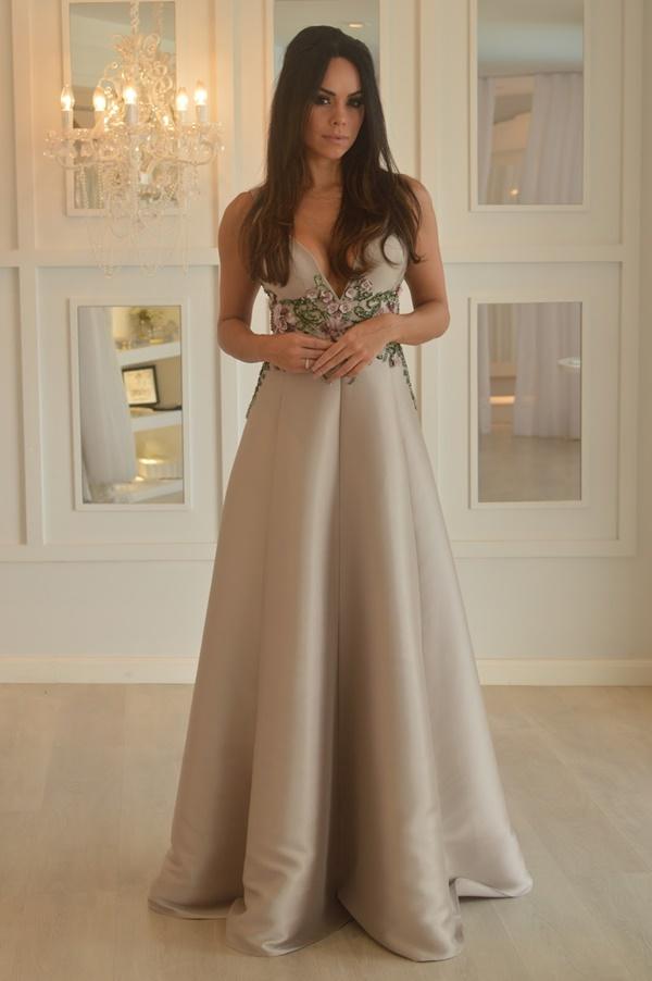 vestido de festa princesa godê