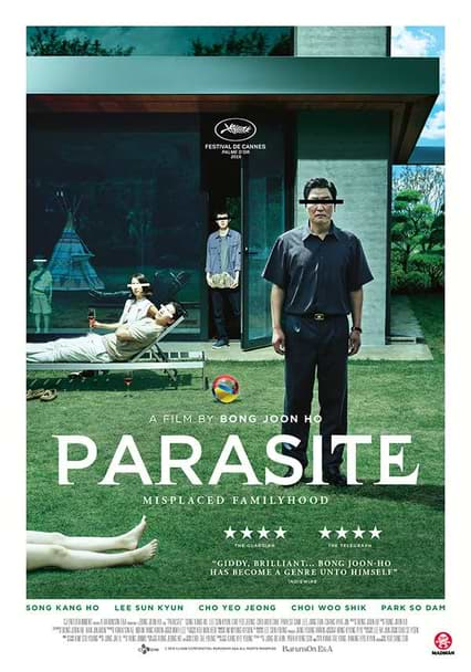 Download Parasite (2019) BluRay ( Hindi - Korean ) 480p