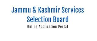 JKSSB Recruitment 02 of 2021