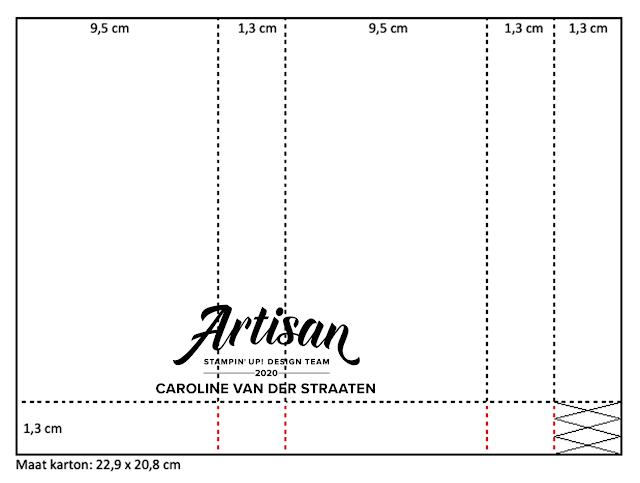 Caro's Kaartjes, Onafhankelijk Stampin' Up! demonstratrice, www.carooskaartjes.blogspot.nl,  carooskaartjes@hotmail.nl, Stampin' Up! verkooppunt, Stampin' Up! Nederland, Stampin' Up! hobby materialen, Artisan Design Team